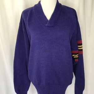 Tommy Hilfiger Purple knit sweater